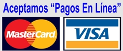 Visa y Master Card On Line